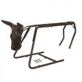 Cavalete de metal para laço