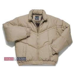 Jaqueta de poliester